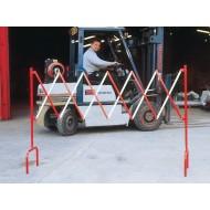 Portable Expanding Barrier CSXSR